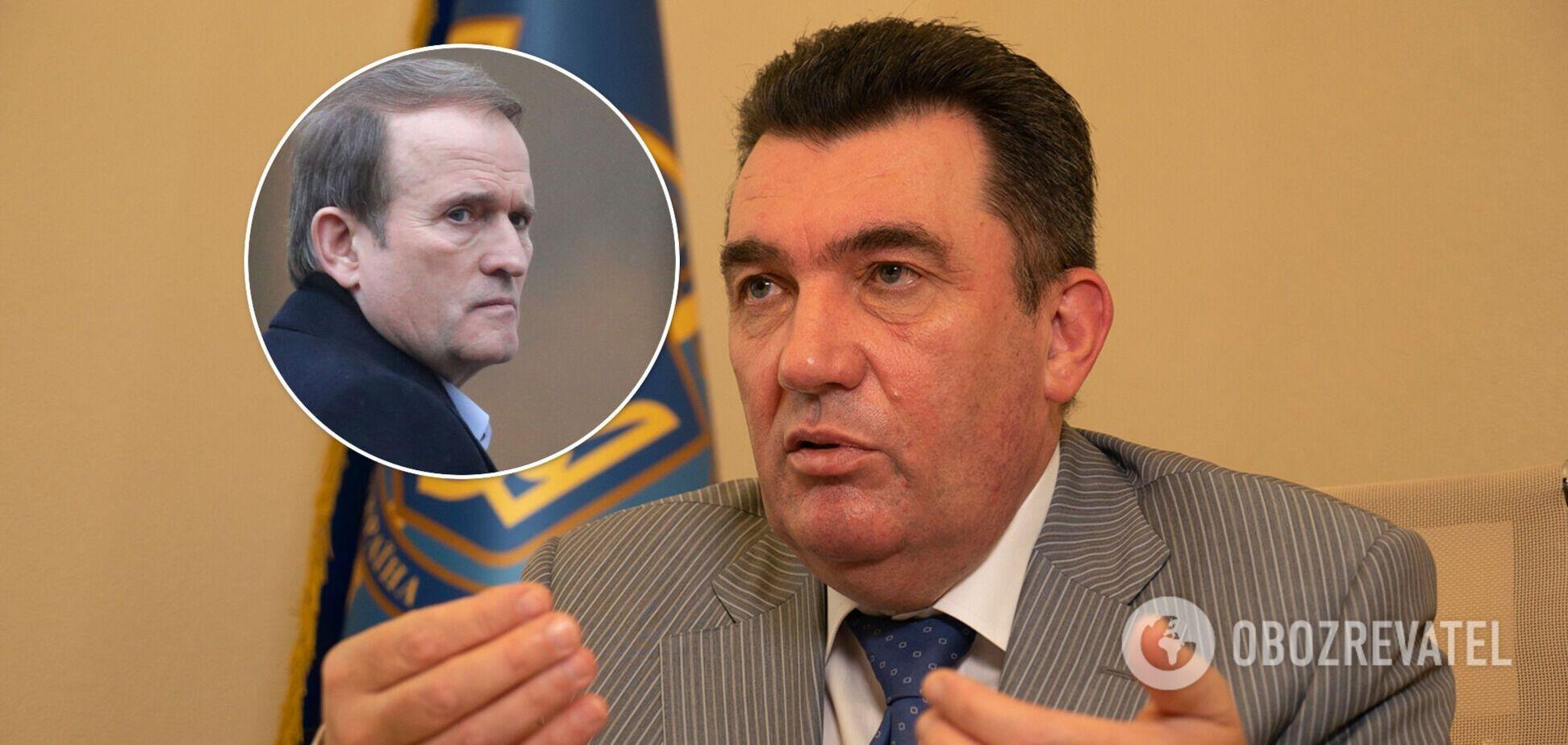 Данилов рассказал, сколько длилась подготовка санкций против Медведчука