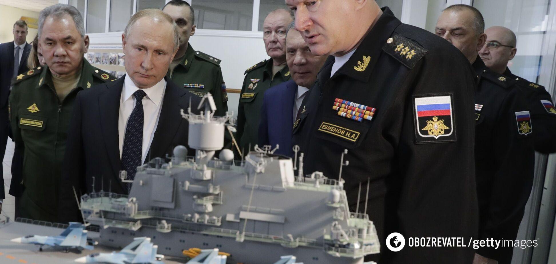 В России из-за проблем перенесли спуск атомного крейсера