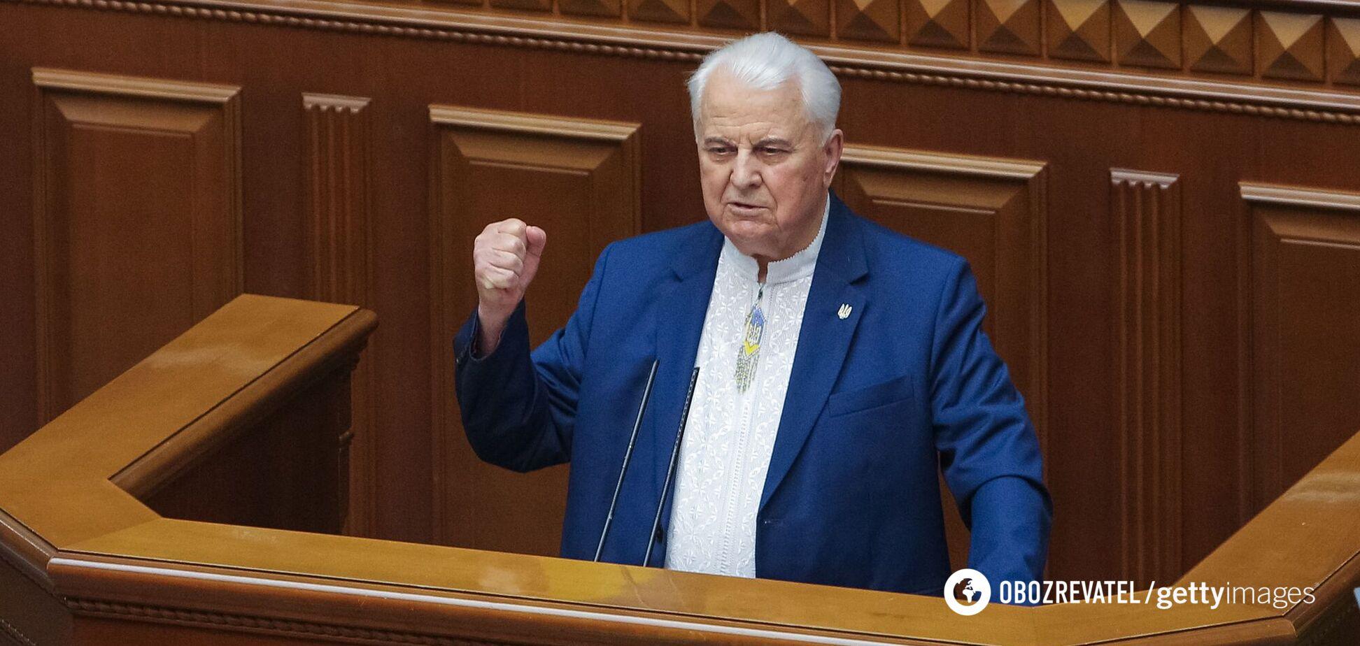 Кравчук сказал, как заставить Россию возобновить переговоры по Донбассу