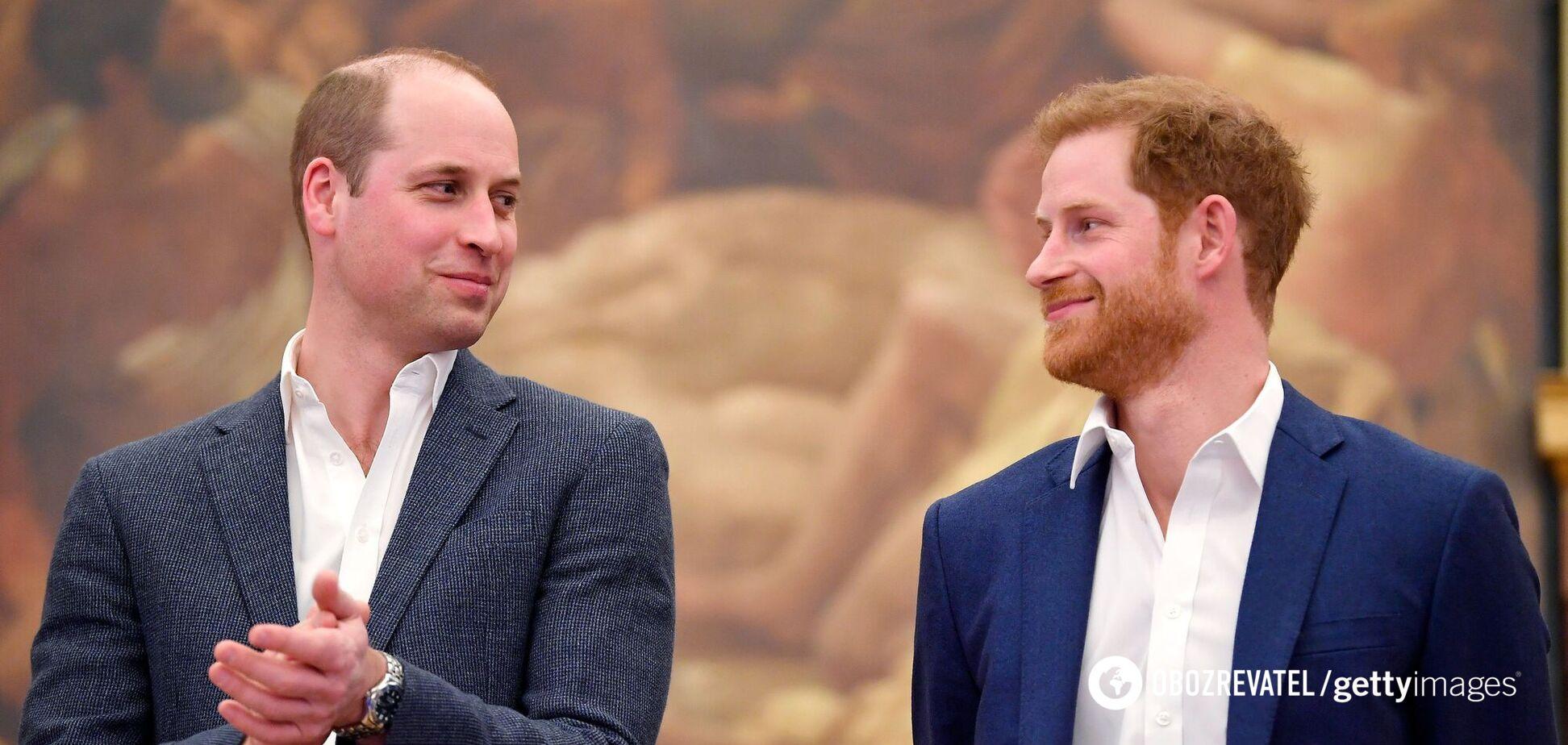 Принци Гаррі та Вільям оголосили перемир'я