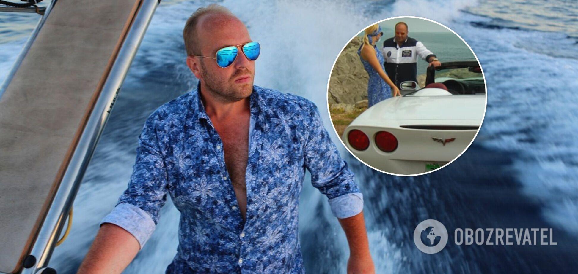 Чем увлекается организатор голой фотосессии в ОАЭ Гречин: в сети показали элитные яхты и авто