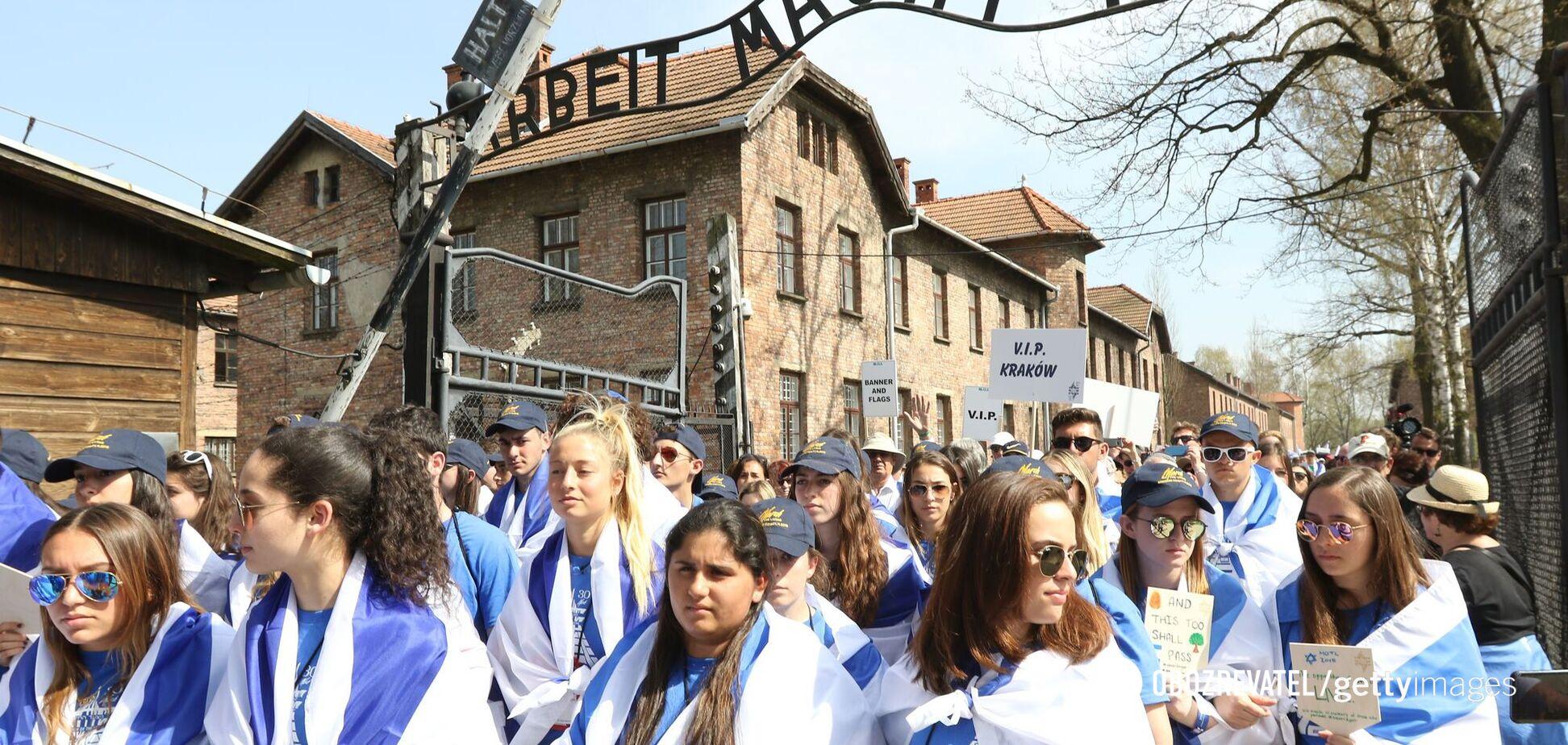 'Марш живих' – хода від Освенцима до Біркенау, 2018 рік