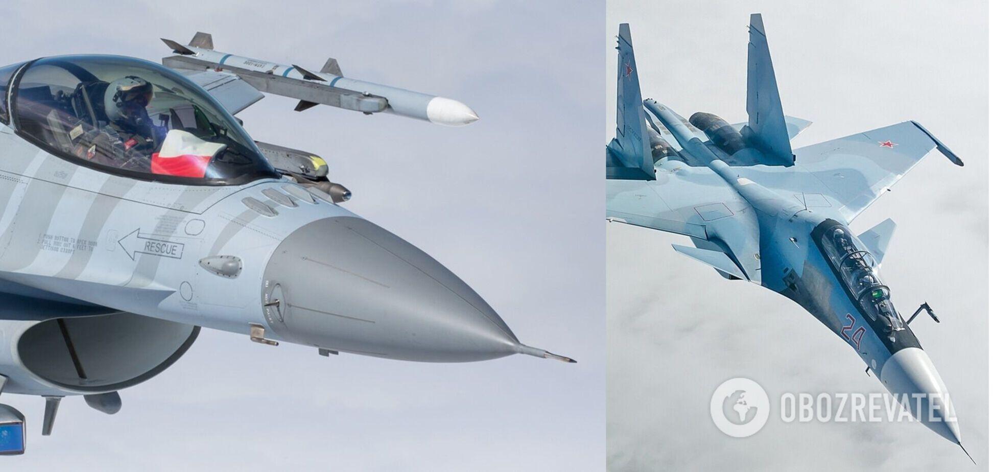 Авіацію НАТО сім разів за тиждень піднімали на перехоплення російських літаків