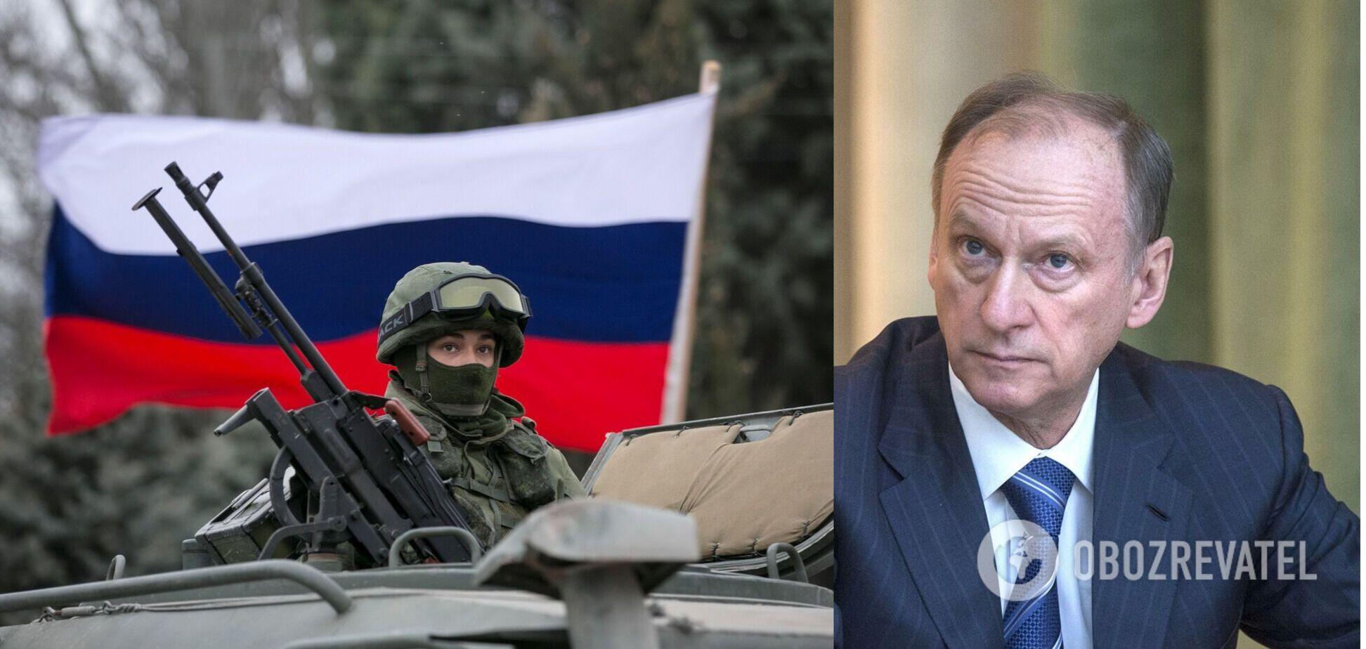 Глава Радбезу РФ пригрозив ужити 'конкретних заходів' проти України