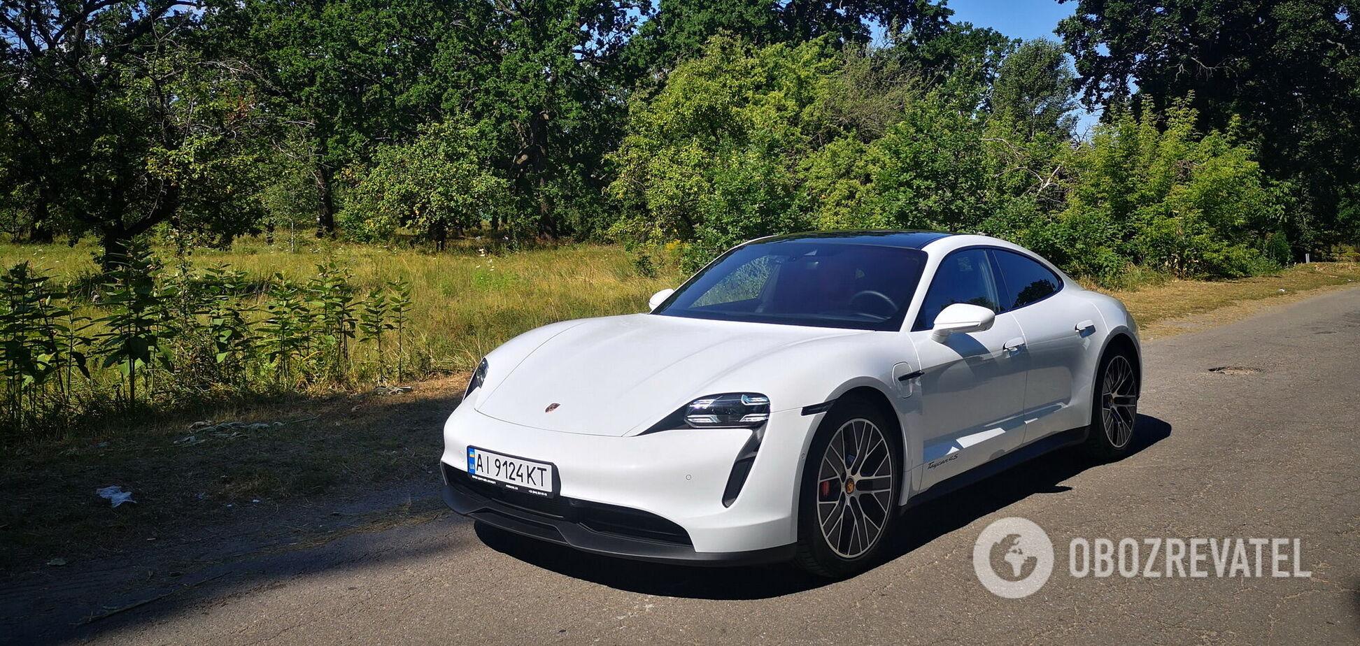 Електрична сила: тестуємо спорткар Porsche Taycan