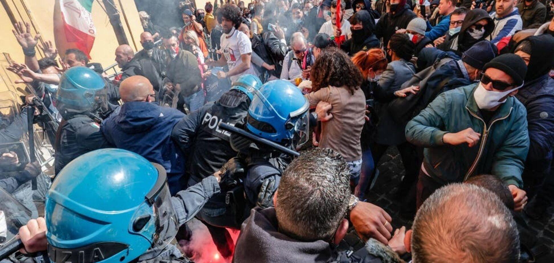 Протест в Італії