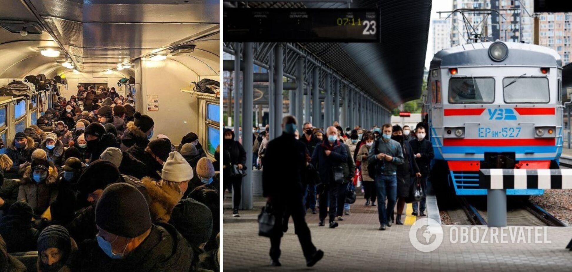 В Черниговской области решили проблему переполненности электричек