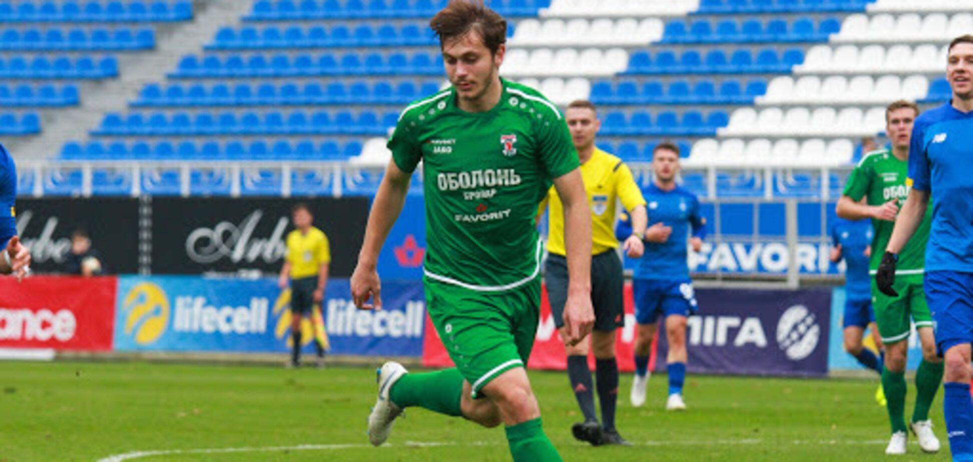 Украинский футболист забил фантастический гол с 40 метров. Видео