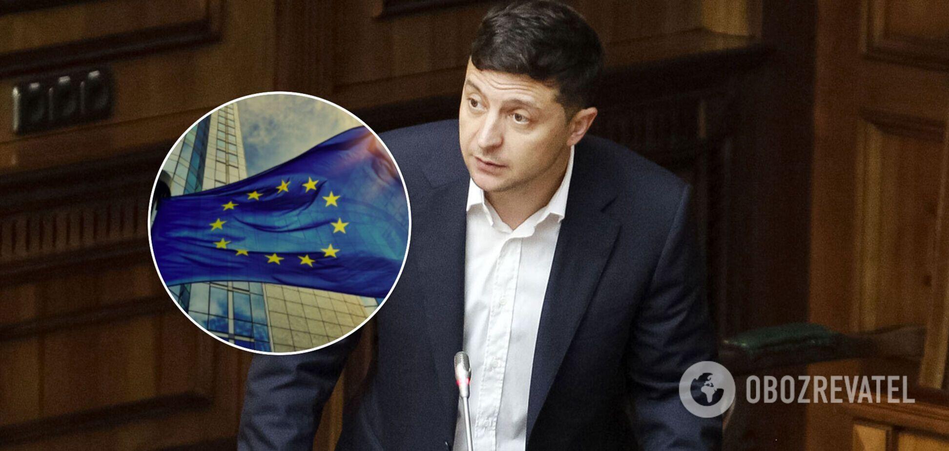 Зеленський звільнив кількох послів і главу представництва при ЄС