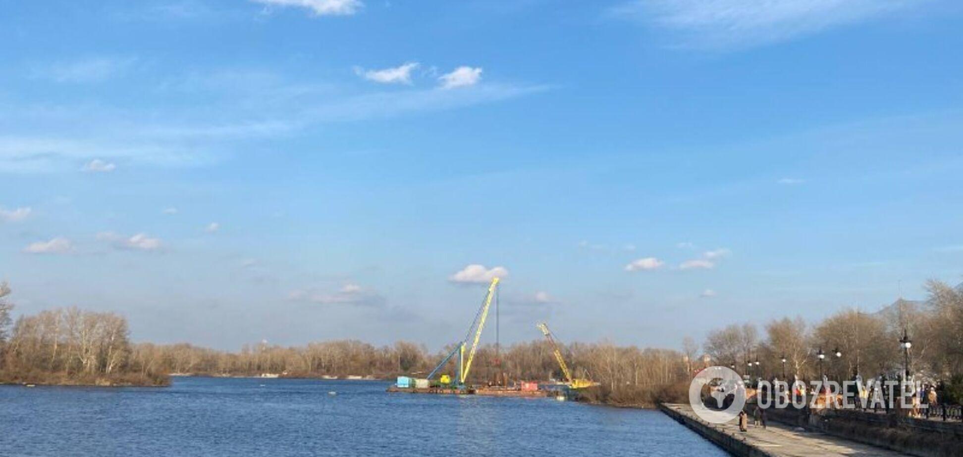 В Киеве построят еще один мост на Оболони
