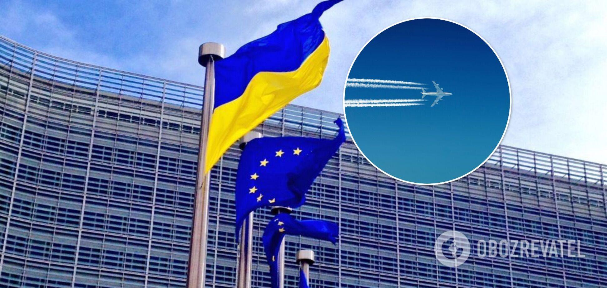 Єврокомісія схвалила проєкт угоди про спільний авіапростір з Україною
