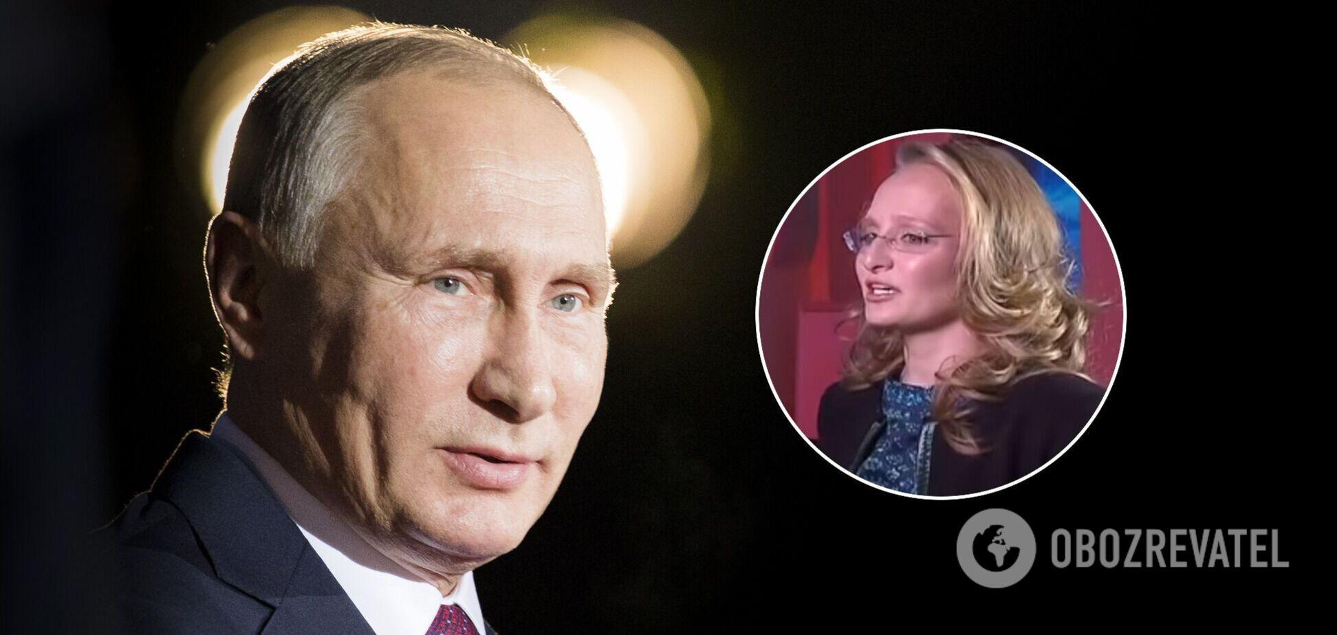 Дочь Путина Тихонова не будет президентом РФ: Полозов назвал причину
