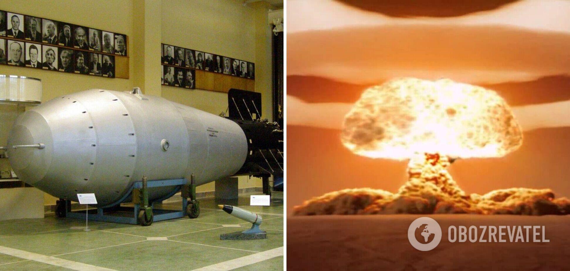 У Росії розсекретили відео вибуху найпотужнішої у світі бомби