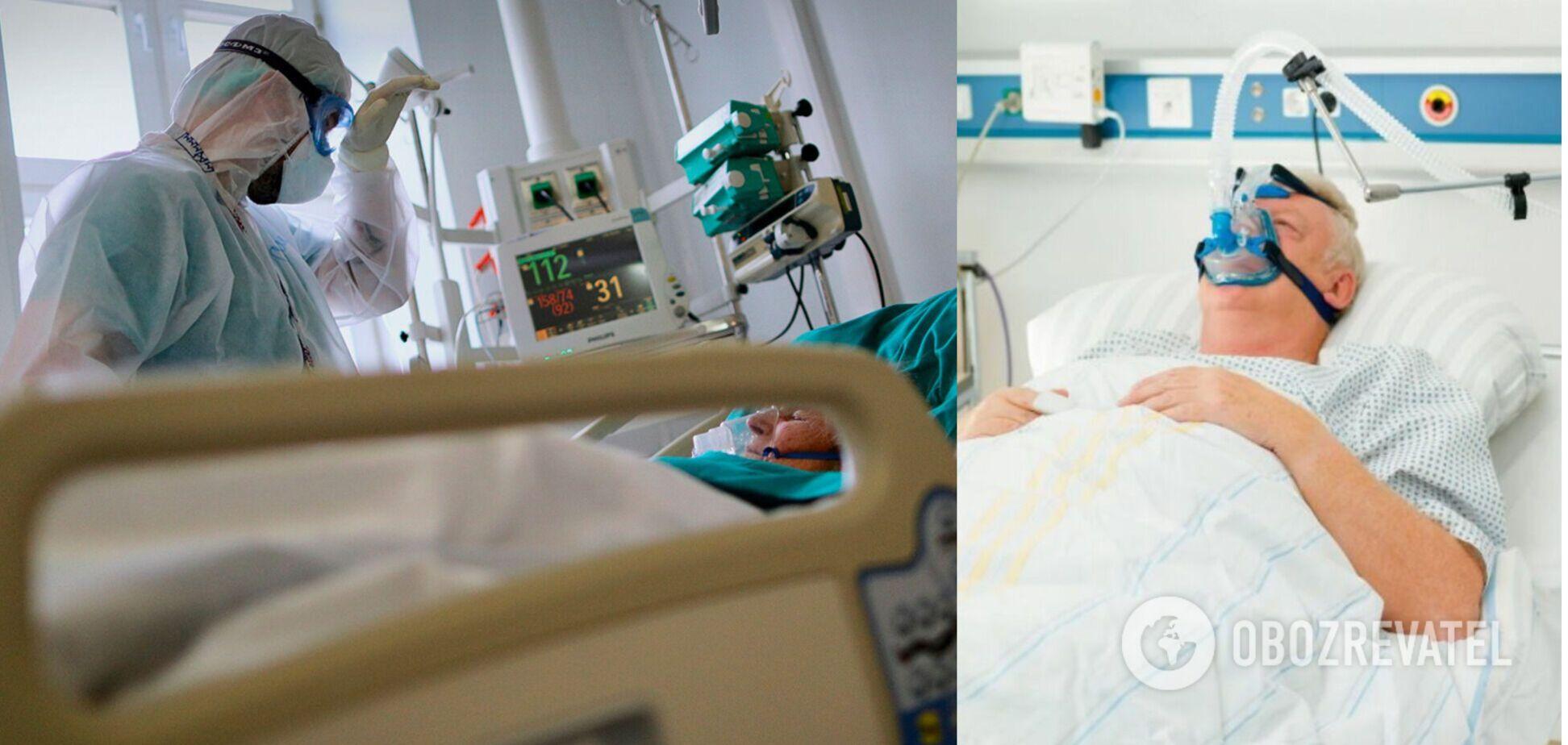 У лікарнях зайнято 61,7% ліжок