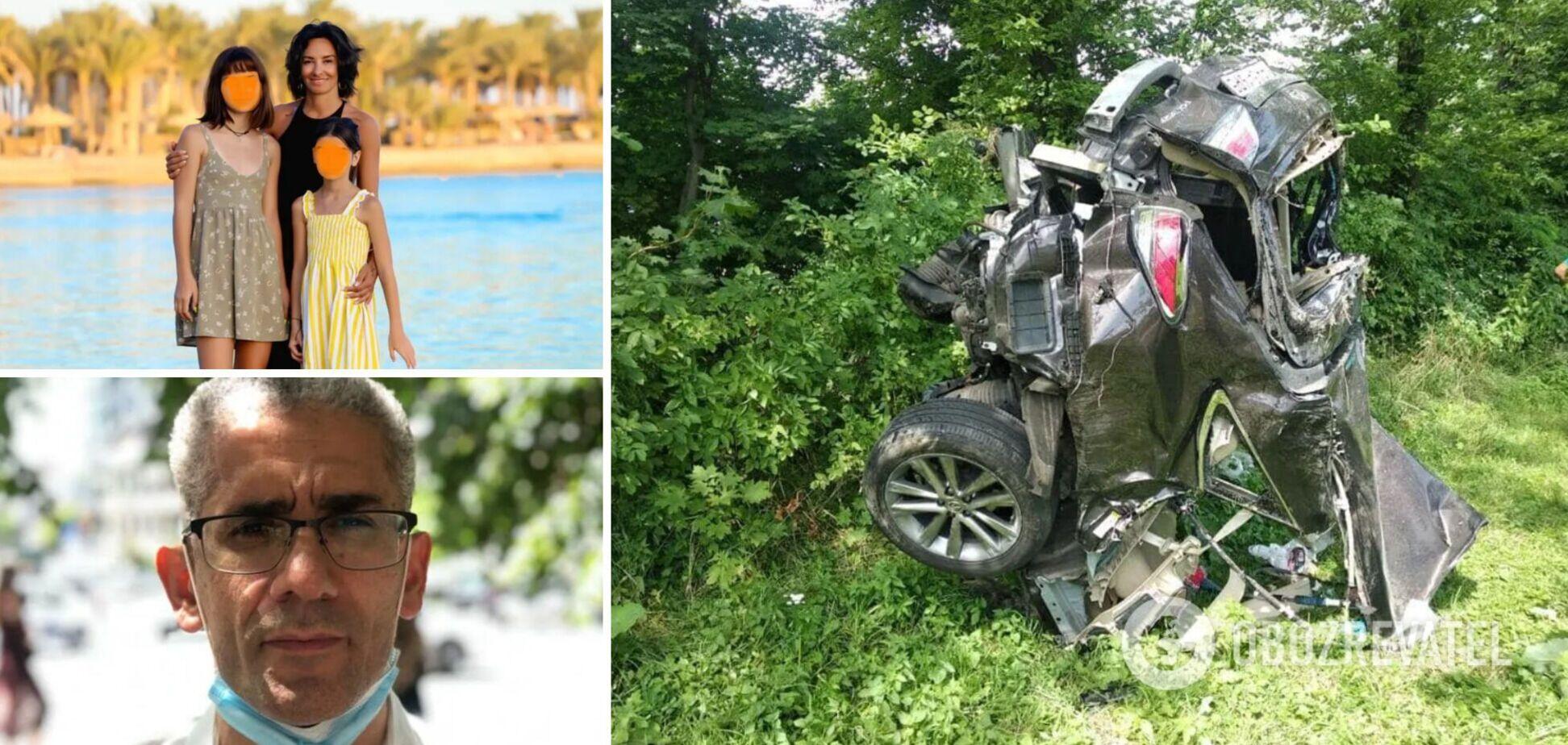 Українка, яка втратила двох дочок у ДТП, просить покарати водія-француза, який утік: подробиці
