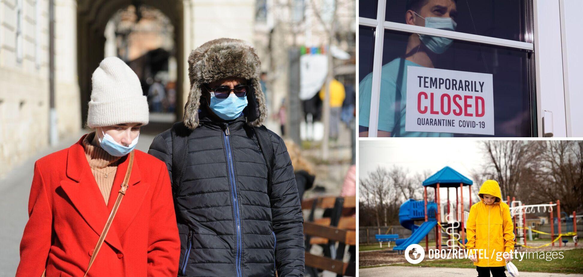 Херсонская область и еще три города в Украине усилили карантин: что запретили