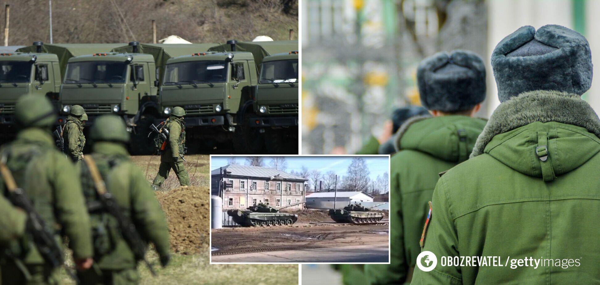 Біля кордону України засікли величезний новий табір військ Росії