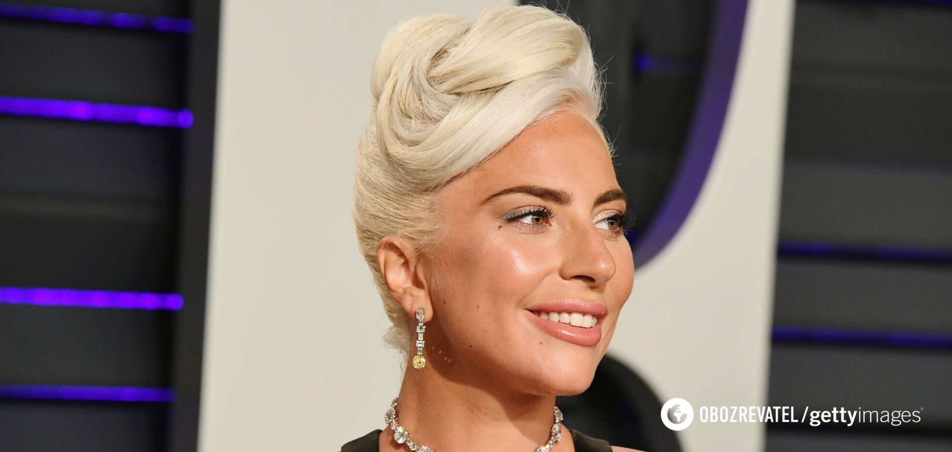 Леди Гага засветилась в свадебном платье. Фото