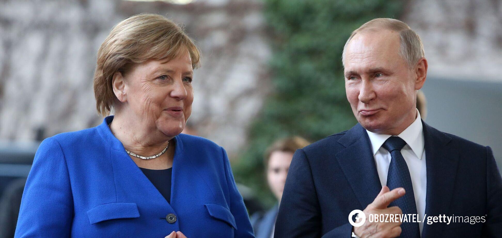 Путін із Меркель обговорили загострення на Донбасі: озвучені версії Росії та Німеччини