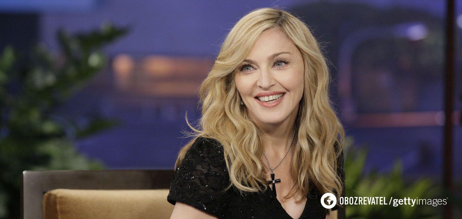 Мадонна поделилась дерзким фото