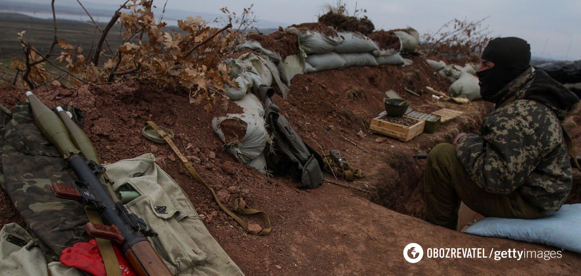 Оккупанты на Донбассе убили воина ВСУ и обстреляли гражданскую инфраструктуру