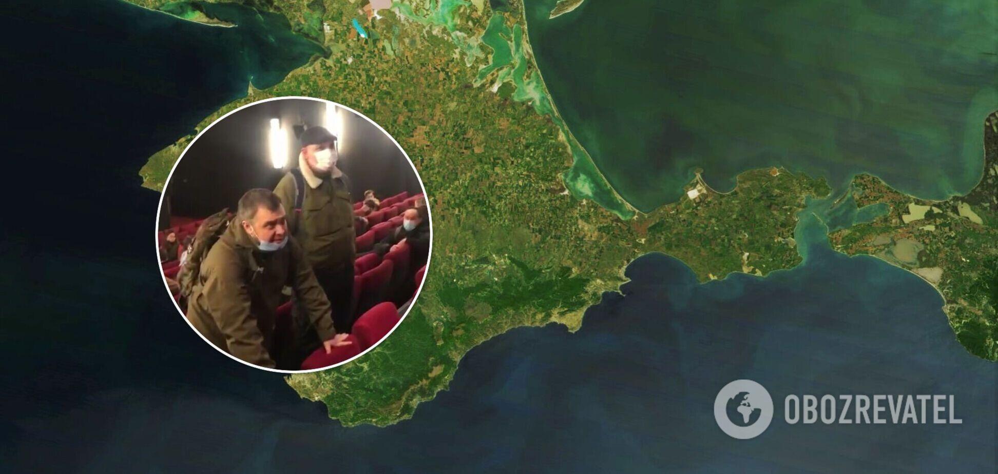 У Москві намагалися зірвати показ фільму про Крим через слово 'анексований'. Відео