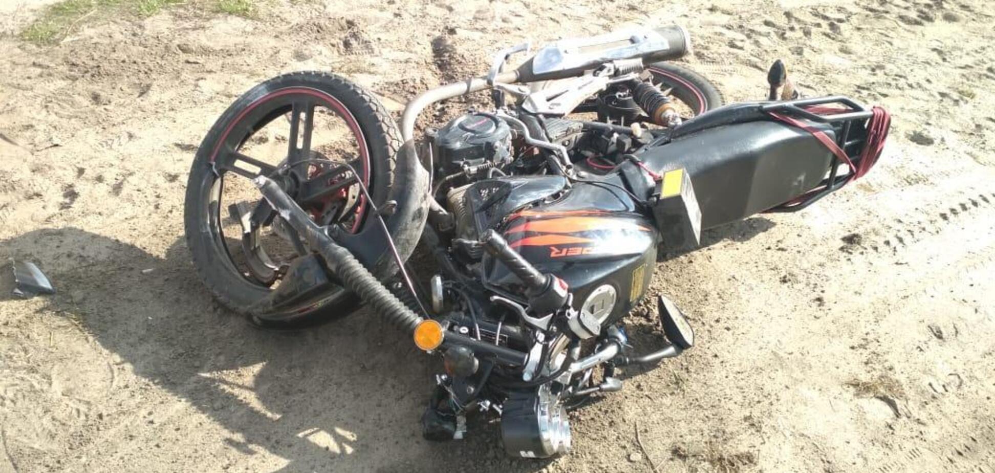Смертельна ДТП з мотоциклом