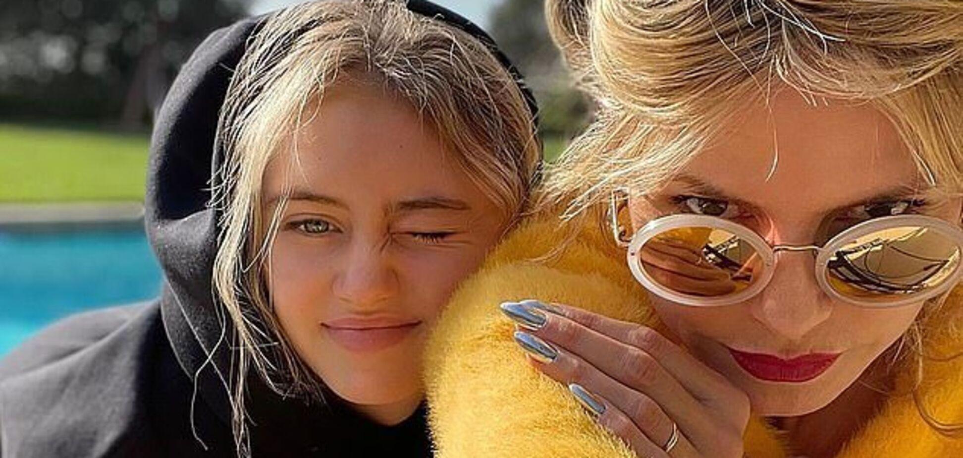Дочь Хайди Клум снялась для обложки журнала