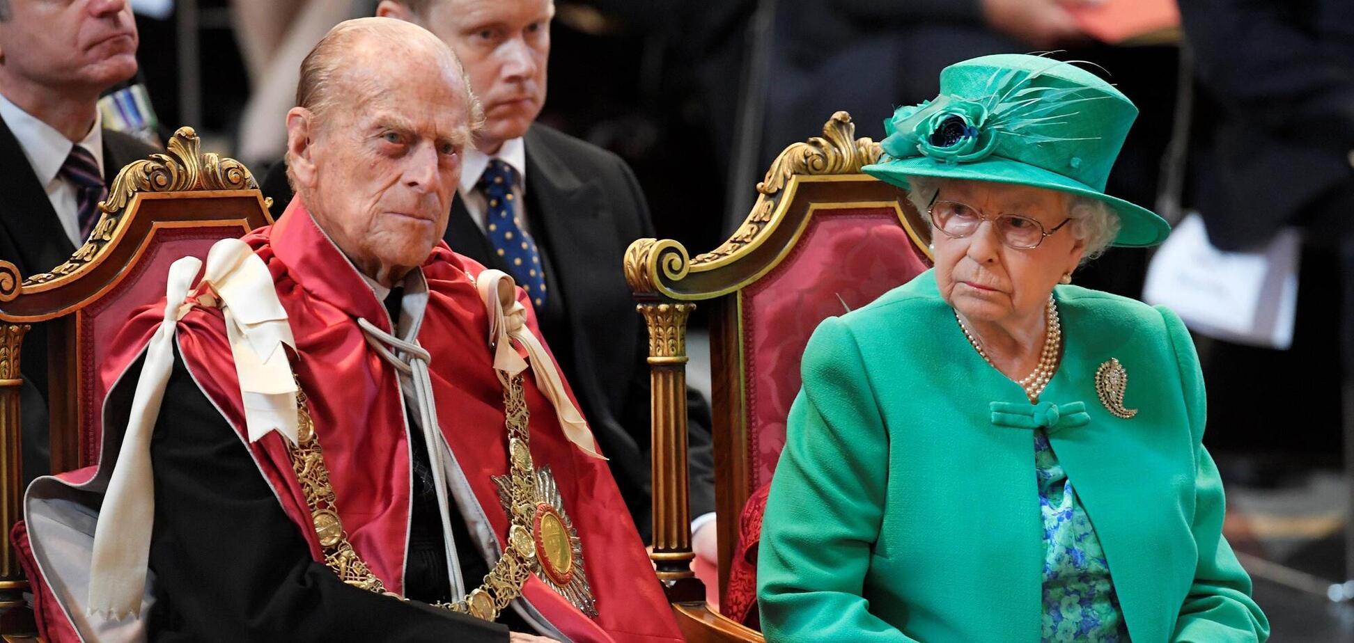 Помер чоловік королеви Єлизавети ll принц Філіп