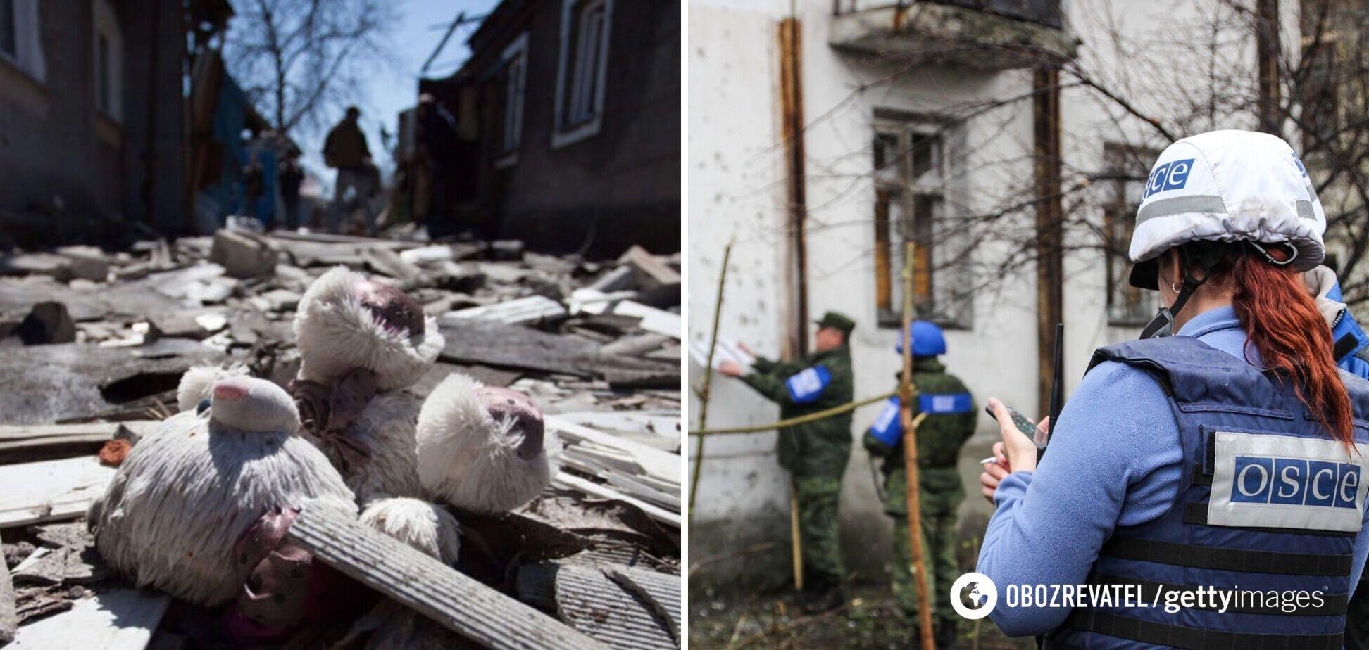 Гибель ребенка на Донбассе: наблюдатели ОБСЕ побывали на месте взрыва