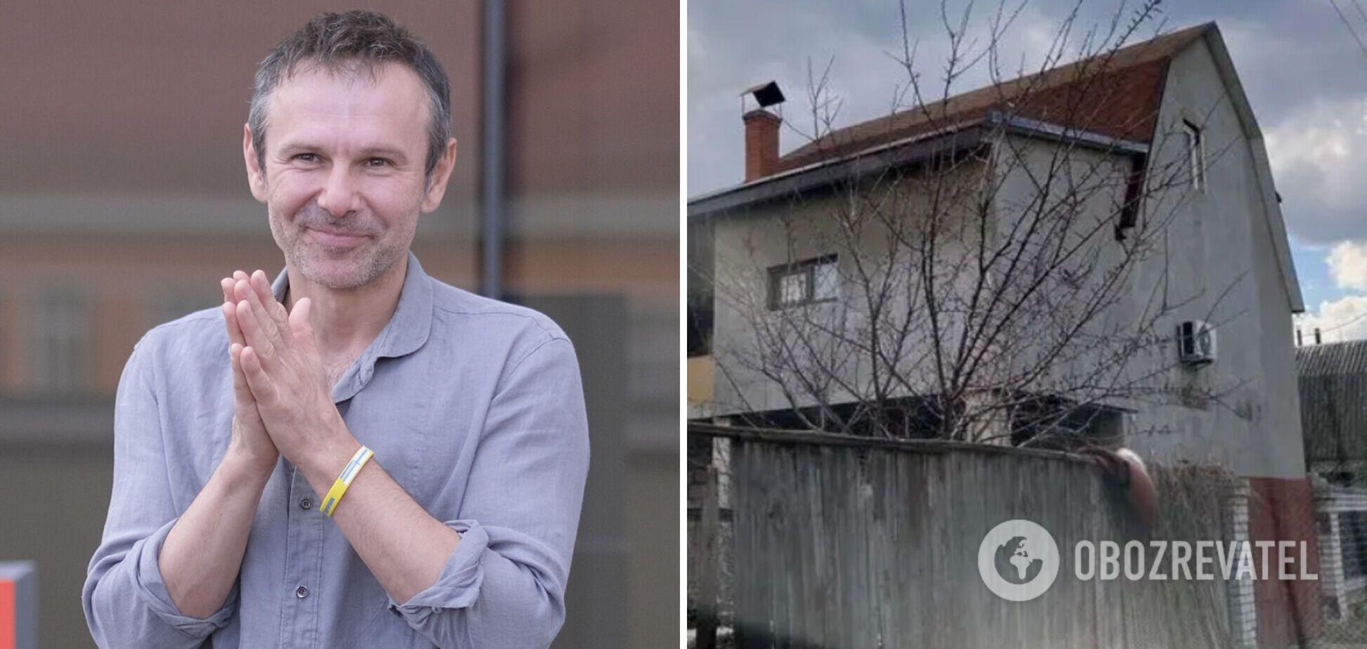 Лідер гурту 'Океан Ельзи' Святослав Вакарчук