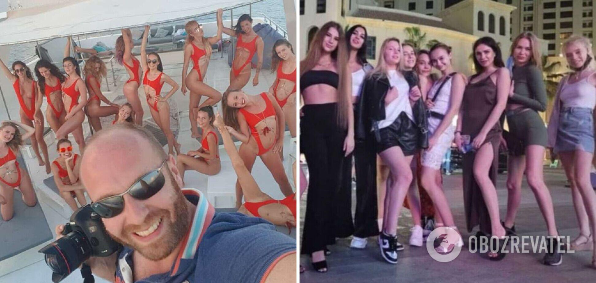 Скандал з українськими моделями в Дубаї