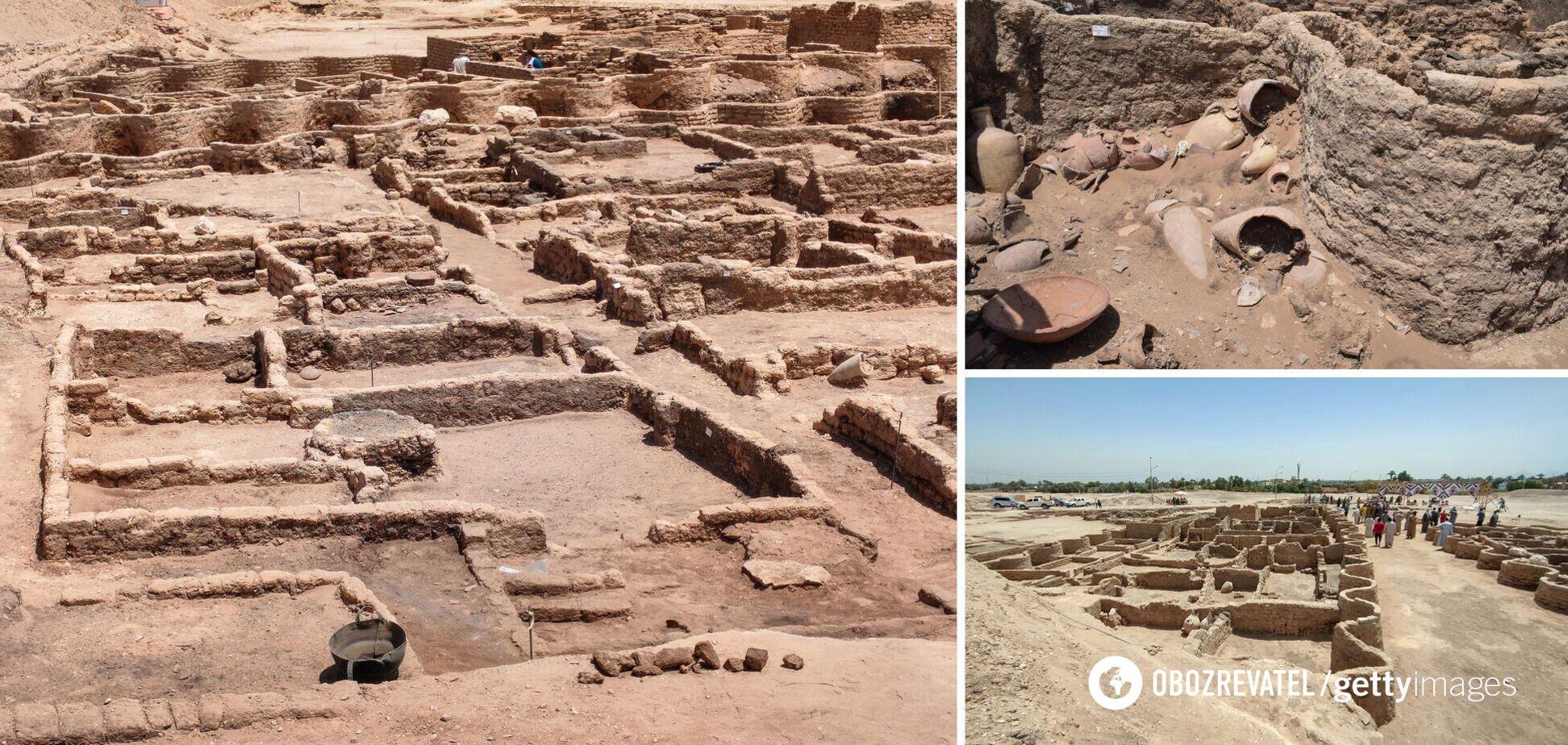 У Єгипті виявили 'золоте місто', загублене 3000 років тому. Фото