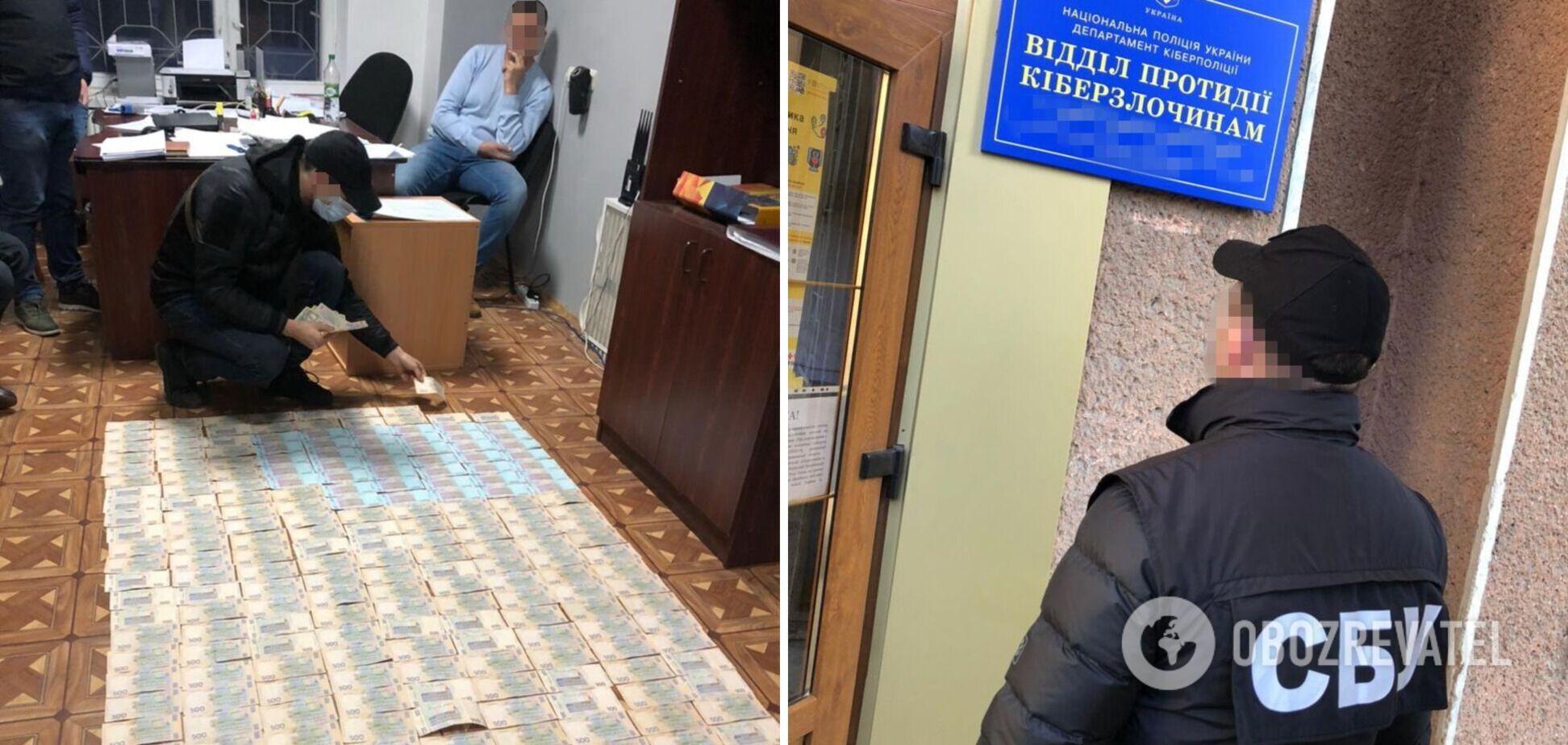 На Прикарпатье киберполицейские хотели 'долю' в 150 тыс. гривен за украденные хакерами деньги с карты