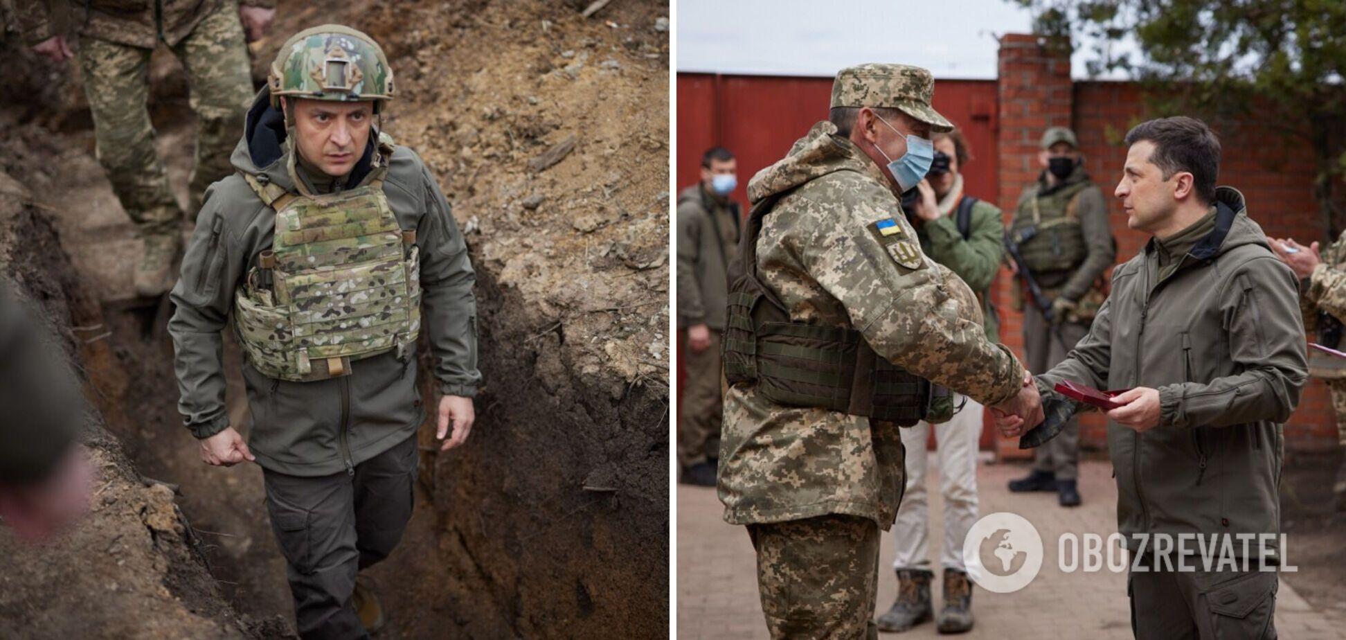 Зеленський записав новий ролик із зони ООС про ескалацію на Донбасі
