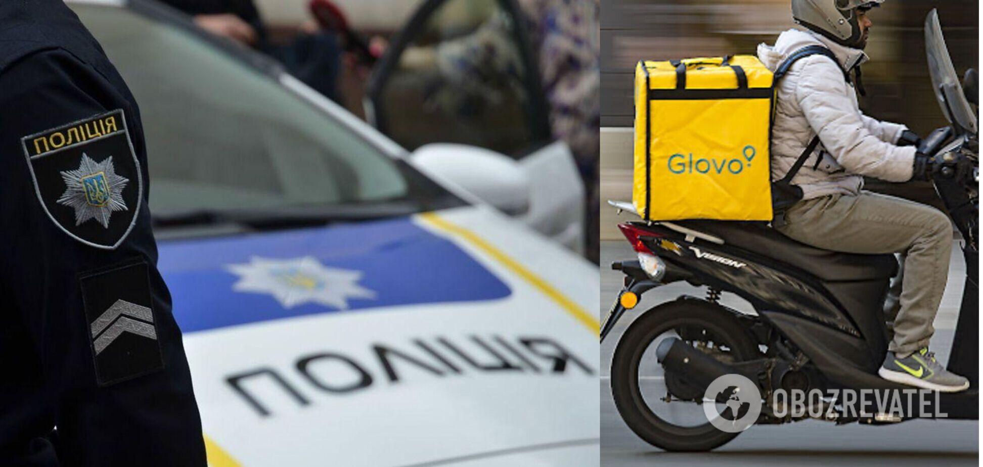 У Львові BMW на смерть збив 58-річну жінку-кур'єрку Glovo. Відео