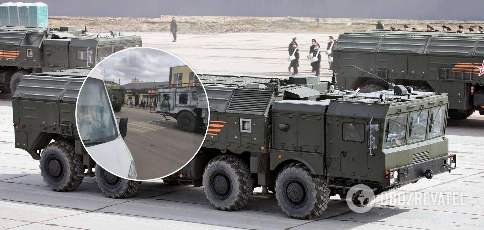 Росія перекинула до кордону України 'Іскандери'. Фото та відео