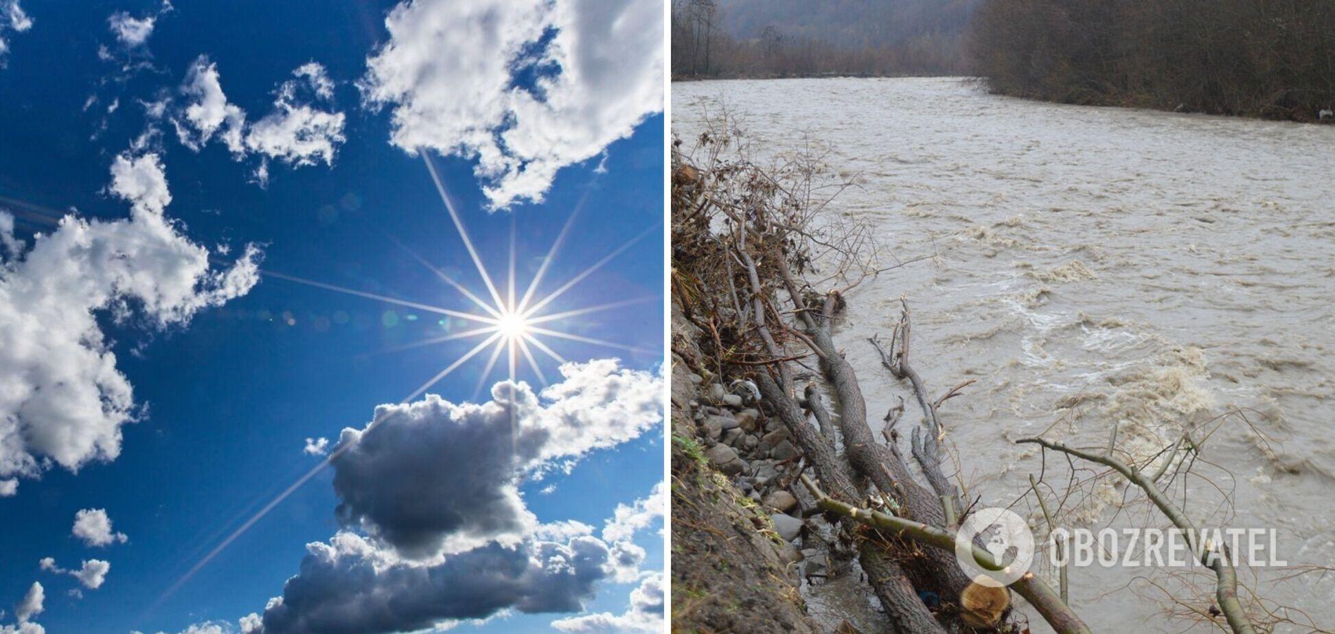 У суботу на українців чекає тепла і сонячна погода: з'явився новий прогноз. Карта