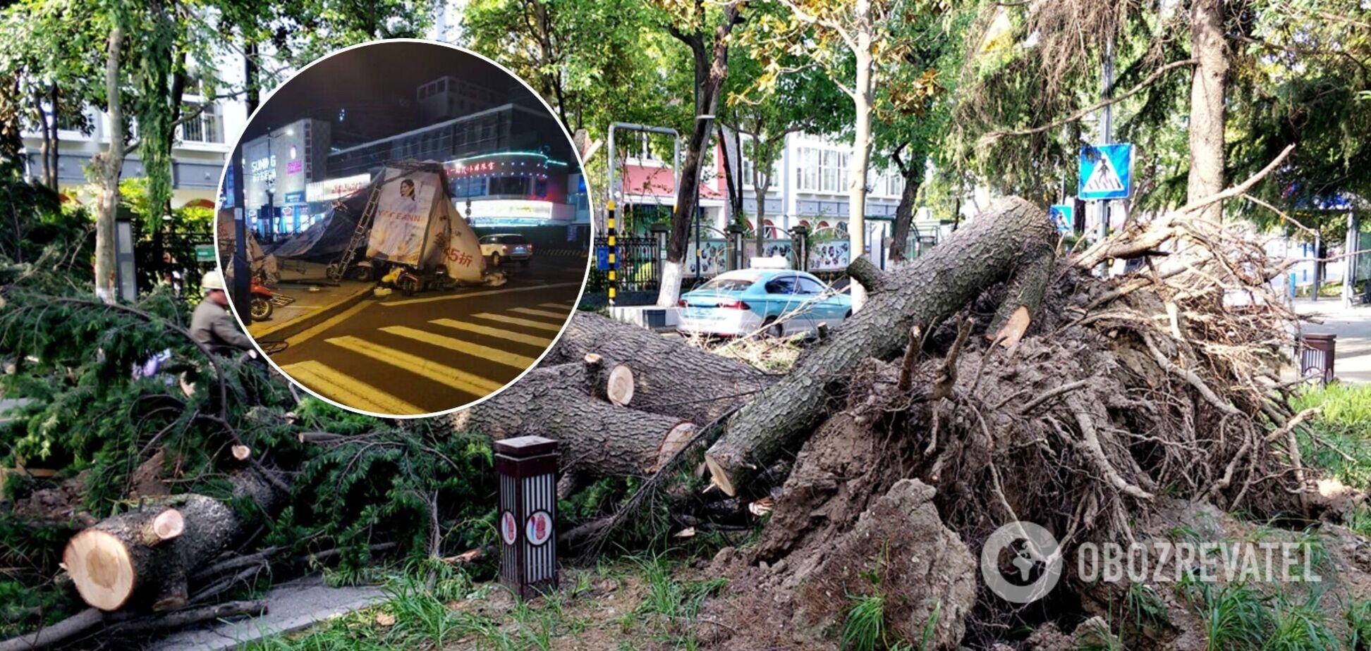 Схід Китаю спіткав ураган, який убив 11 осіб. Відео