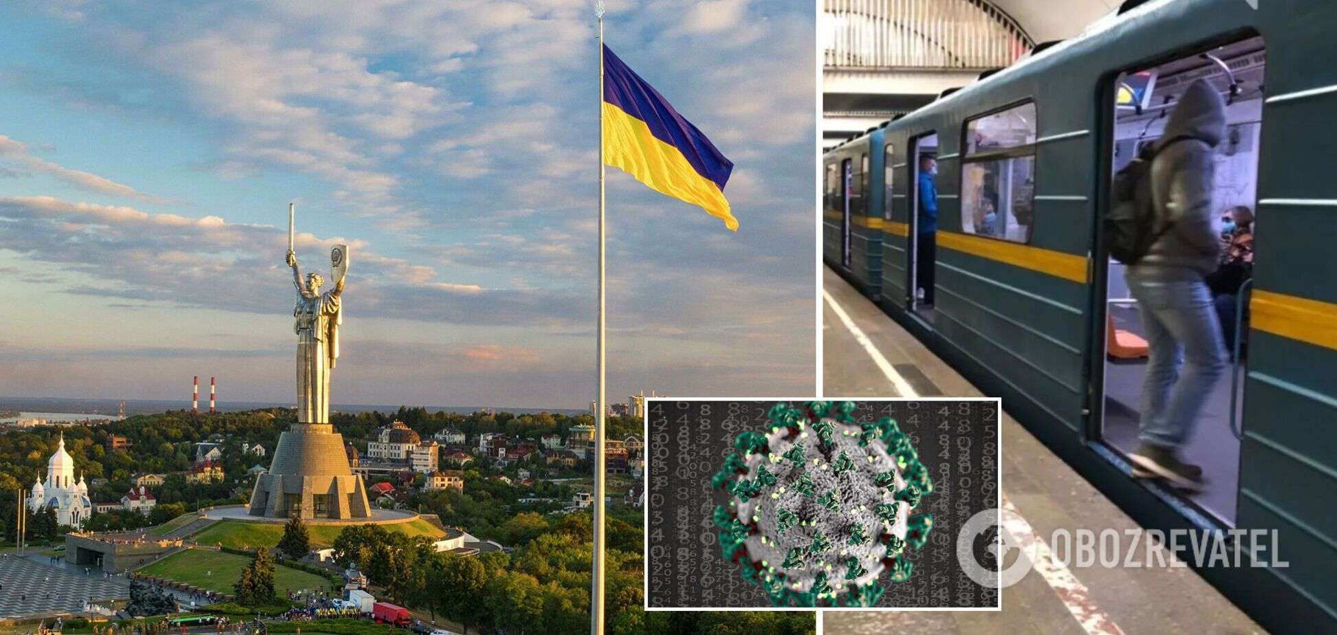 Київ вийшов із 'червоної' зони: що дозволено та як працює метро з 1 травня