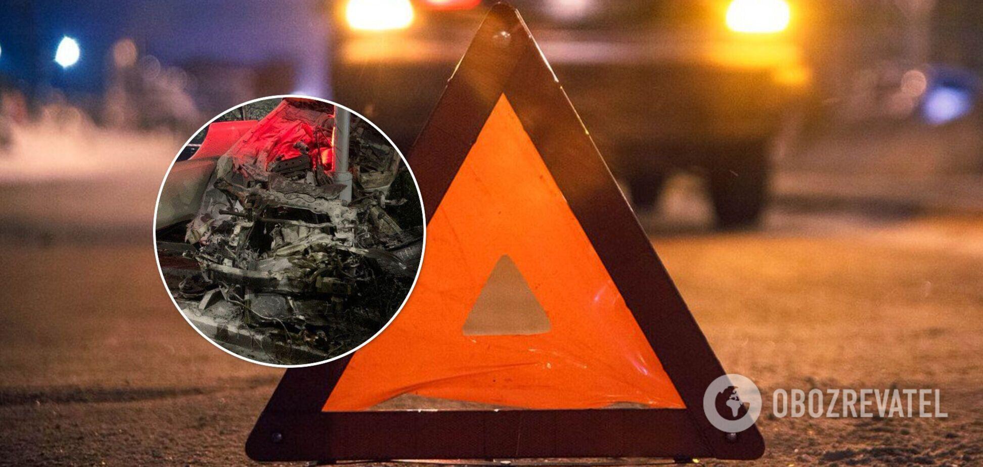 В Киеве парень на Infiniti убил 18-летнюю девушку в пьяном ДТП. Фото и видео