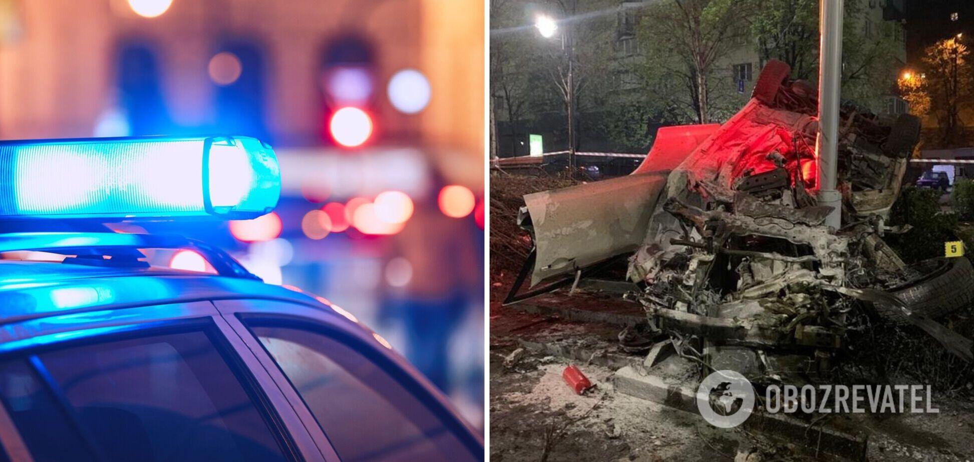 Смертельное ДТП в Киеве: появилось видео, как пьяный водитель убегал от полиции