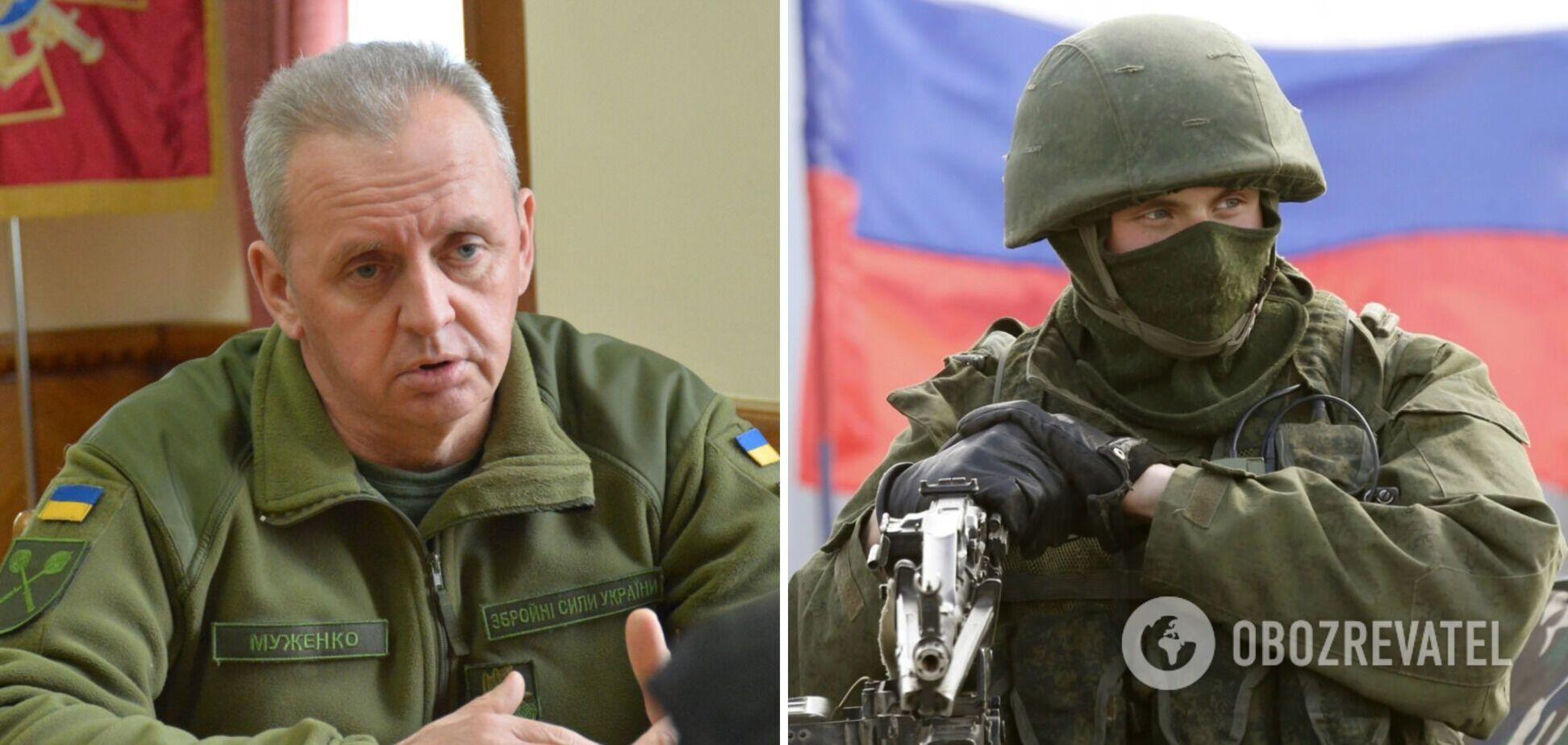 Муженко припустив, що влітку РФ розпочне нову ескалацію на Донбасі
