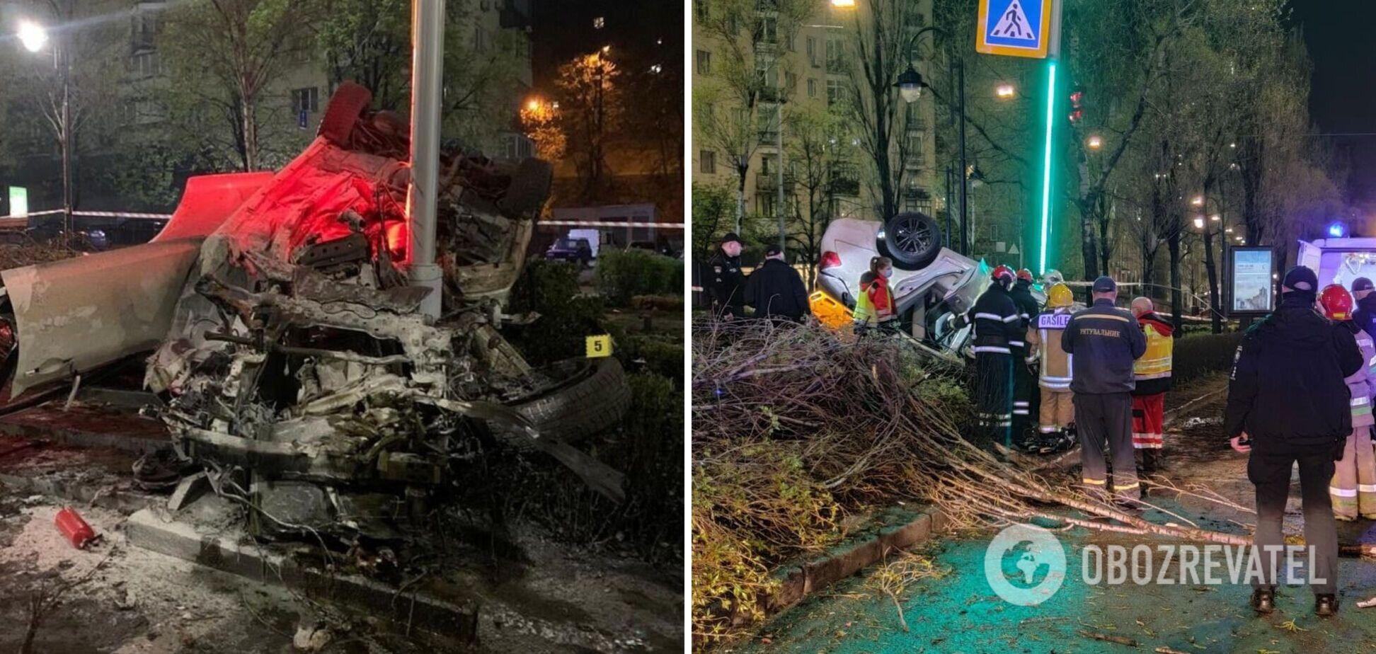 Смертельное ДТП в Киеве: водителя Infiniti уже ловили пьяным ранее, но не наказали. Документ