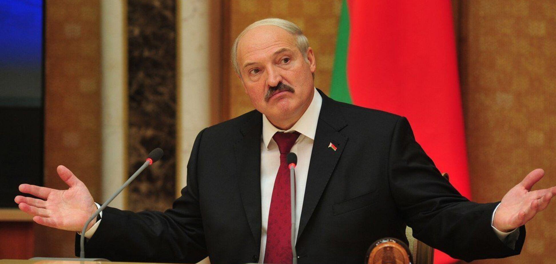 Самоназваний президент Білорусі Олександр Лукашенко