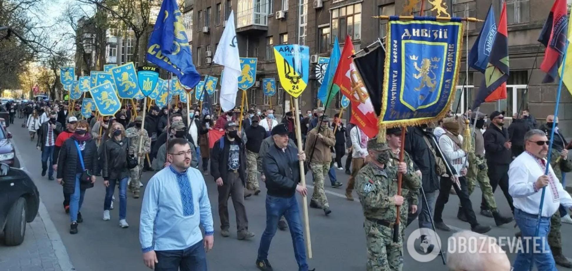 В КГГА пояснили, почему не запретили марш в честь СС 'Галичина'