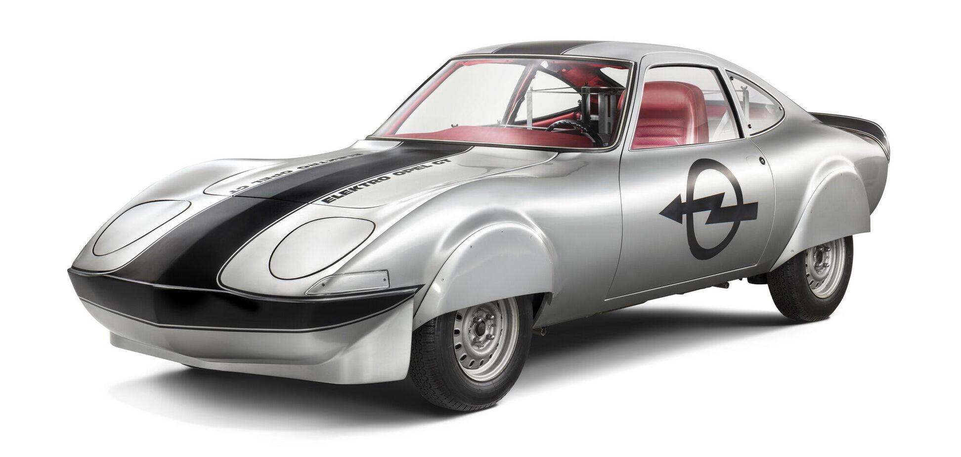 Opel відзначить 50-річний ювілей електричного купе Opel Elektro GT!