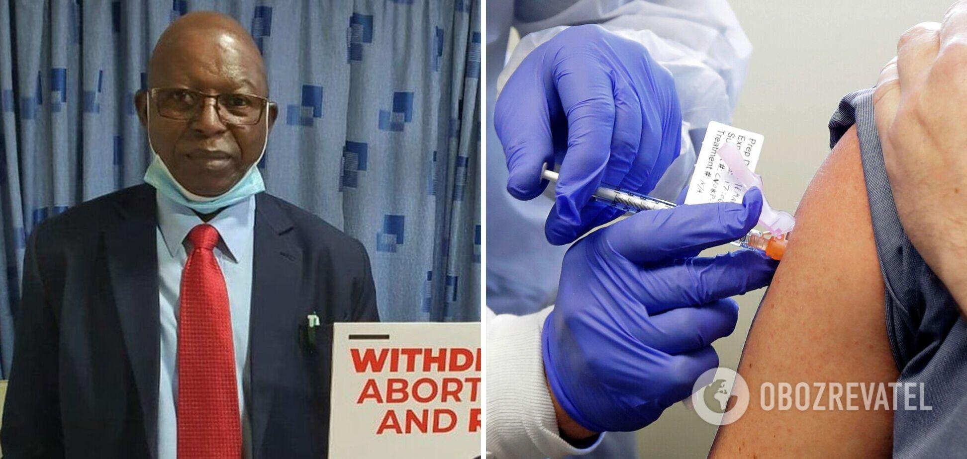 Лікар-антивакцинатор помер від коронавірусу