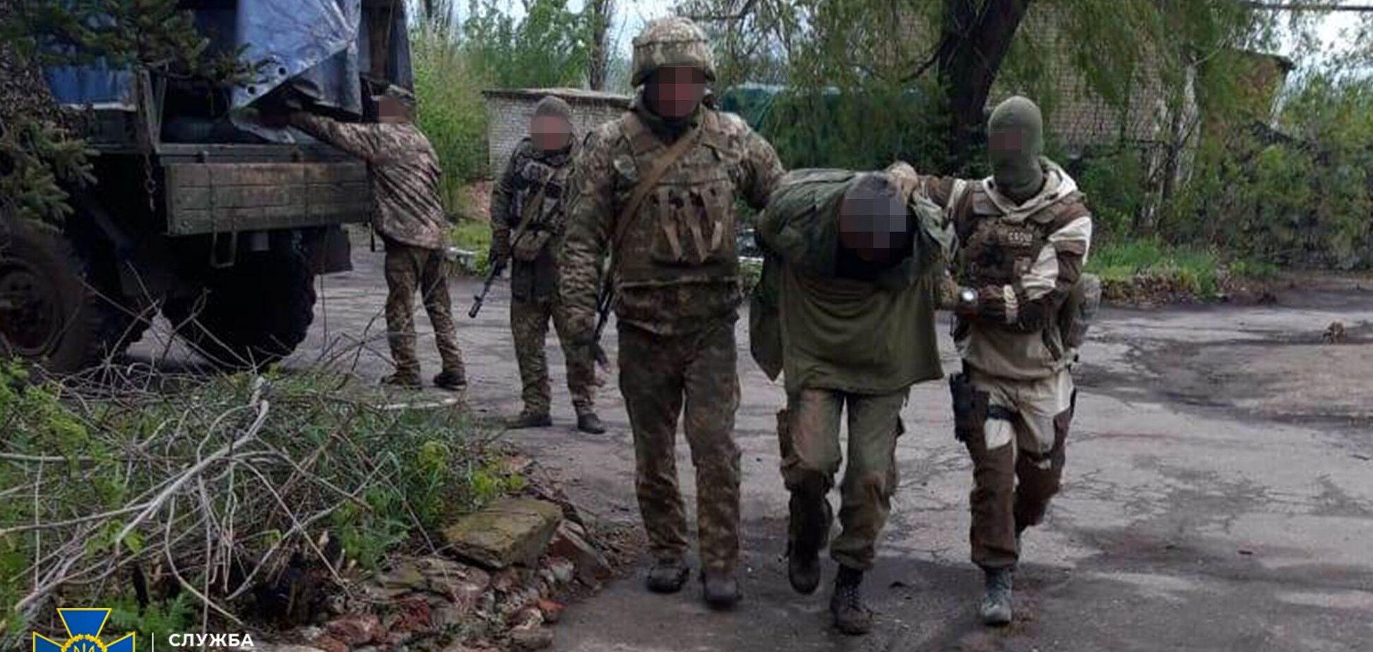 СБУ задержала разведчика 'ДНР' возле линии огня на Донбассе