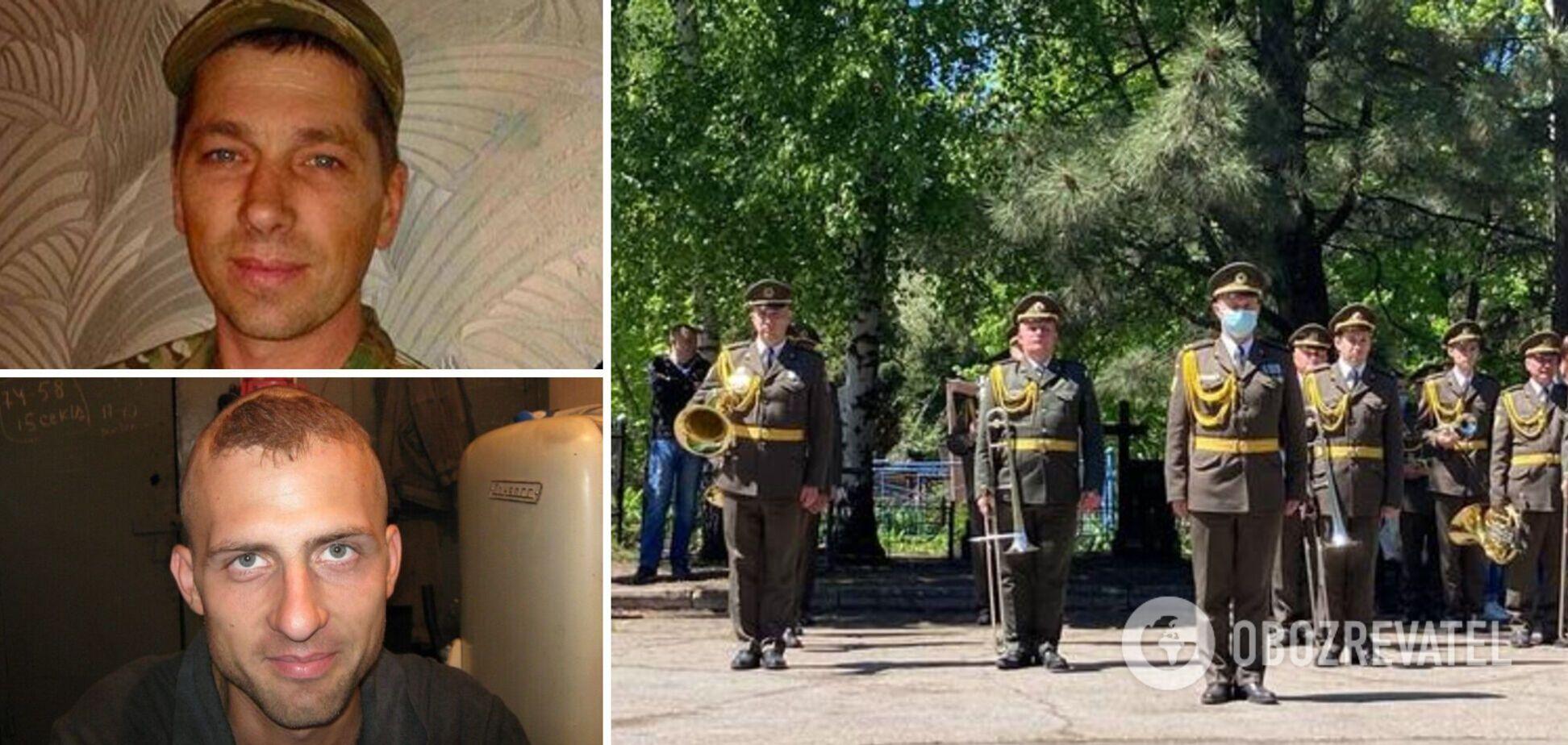 В Украине попрощались с двумя погибшими воинами ВСУ. Фото